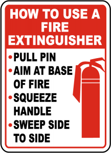 using and maintaining your fire extinguisher first american