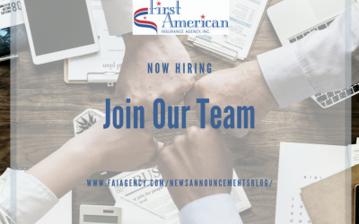 Now Hiring Part-Time Insurance Processor!